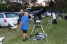 Lachlan with his Celestron CPC 800