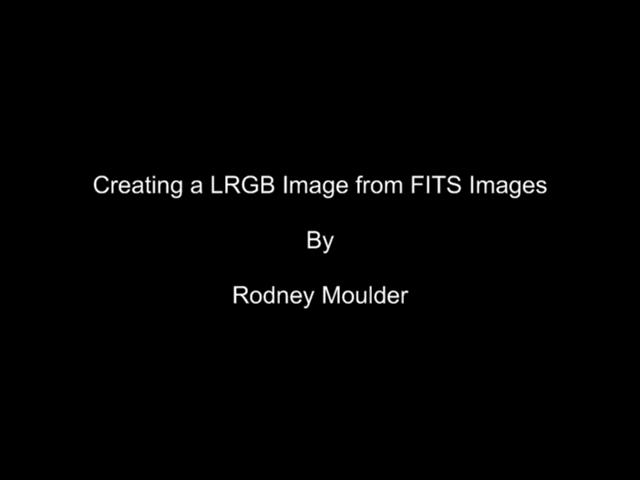 LRGB Tutorial