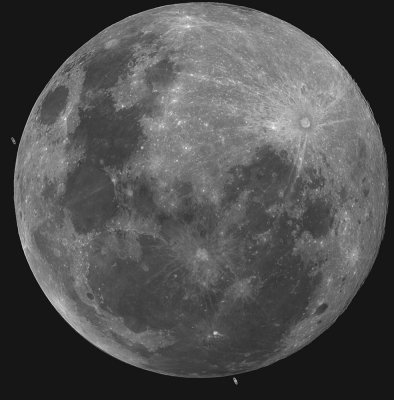 Moon and Saturn Occultation